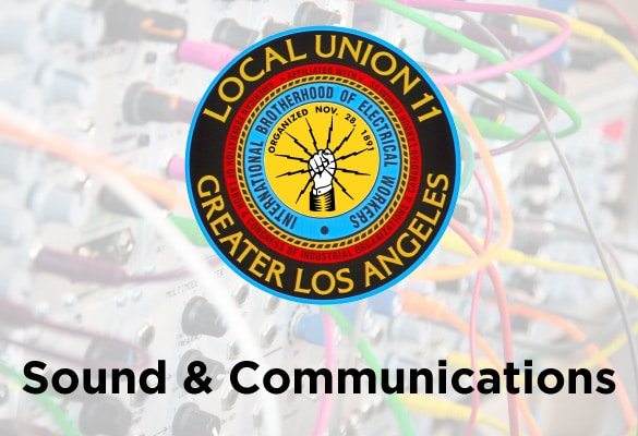 Sound & Communications December Report