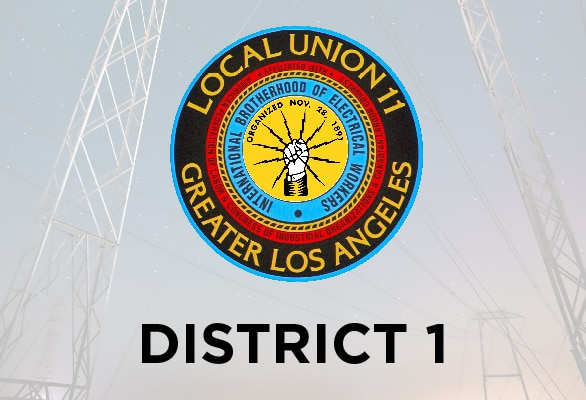 District 1 January Report