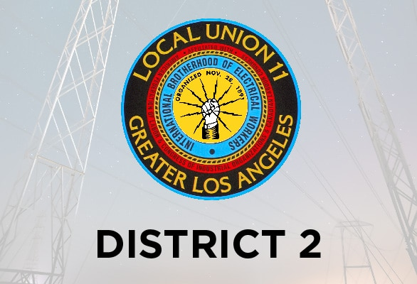District 2 — Job Calls at the Refineries, School Projects and Keeping Busy in Long Beach