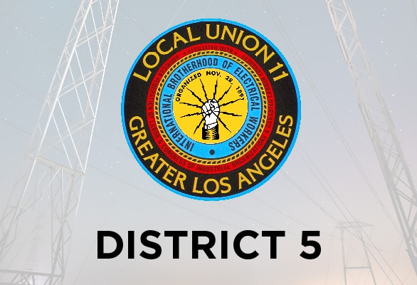 District 5 — December Report