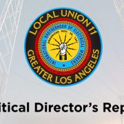 Political Director's Report — July 2019