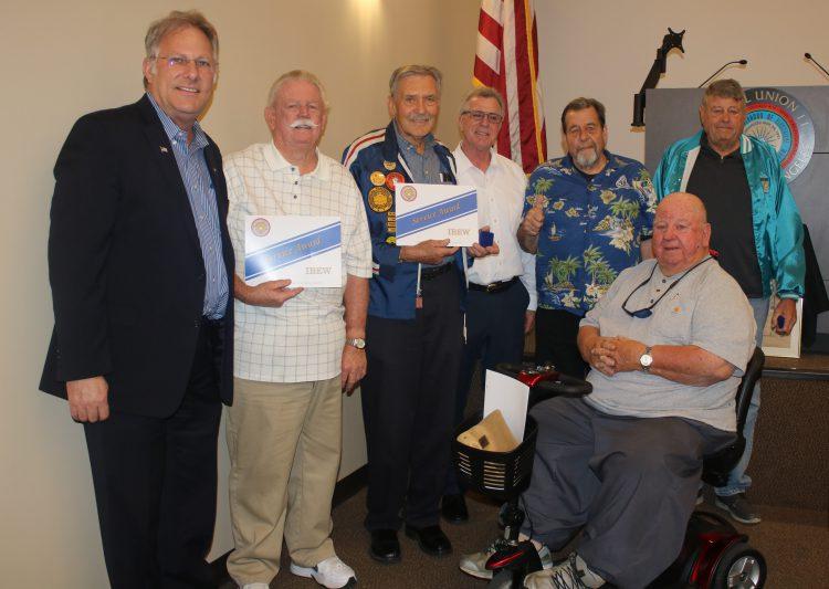 50-Year Pin Recipients