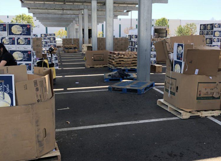 ETI Hosts Food Distribution
