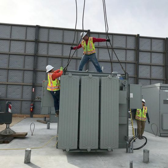 Edison Distribution Center to Power Purple Line Extension