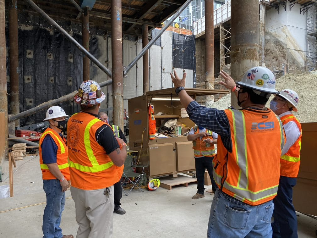 Local 11 Gets Busy on Downtown High-Rise